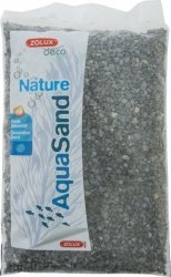ZOLUX 346407 Żwirek Aqua Nature bazalt czerń 1kg