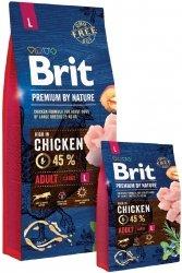 Brit Premium By Nature L Adult 15kg