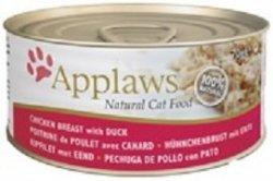 Applaws 1025 Cat Chicken Duck 70g puszka