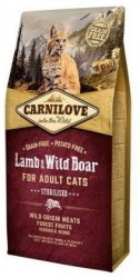 Carnilove Cat 2324 Sterilised Lamb&Wild Boar 400g