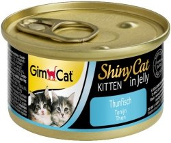 Gimcat 413150 Shiny Cat Kitten Tuńczyk 70gr