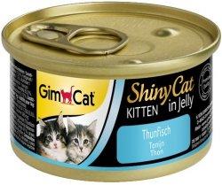 Gimcat 413150 Shiny Cat Kitten Tuńczyk 70gr