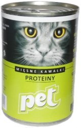 Pet Cat 410g Proteiny - Light