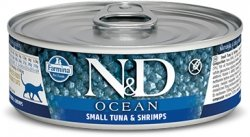ND Cat 2888 Adult 80g Ocean Small tuna, Shrimp
