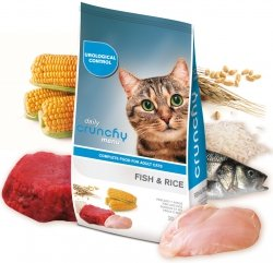 Crunchy Cat Adult 20kg Menu Fish & Rice