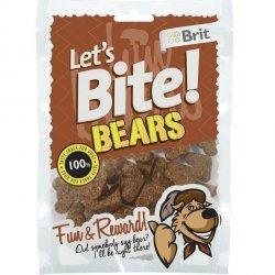 Brit Let's Bite N Dog Bears 150g