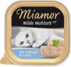 Miamor 75060 Milde Mahlzeit Kurczak i łosoś 100g