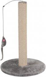 Zolux 504048GRI Drapak słupek z myszką 48cm szary