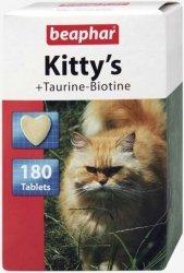 Beaphar 12783 Kitty's Tauryna/Biotyna 180szt-tabl.