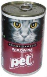 Pet Cat 410g Wołowina