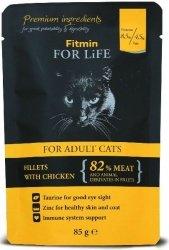 Fitmin Cat 85g For Life saszetka chicken
