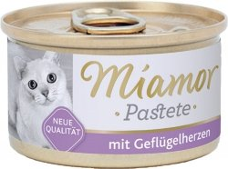 Miamor 74014 Drobiowe serca 85gr pasztet dla kota