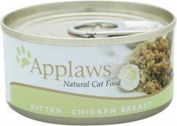 Applaws 1001 Cat Kitten Chicken 70g puszka kociąta