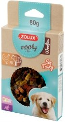 Zolux 482180 MOOKY Puppy Woofies Mix 80g