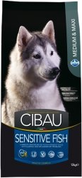 Cibau Dog 1037 Sensitive Fish Medium / Maxi 12kg