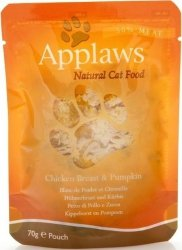 Applaws 8001 Cat Kurczak Dynia 70g saszetka
