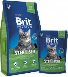 Brit Premium Cat Sterilised 300g