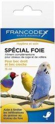 Francodex 174041 Środek d/ptaków na watrobę 15ml