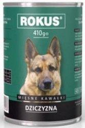 Rokus Dog 410g Dziczyzna