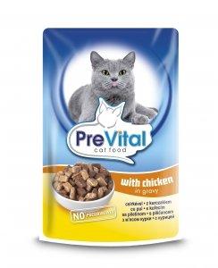 PreVital 7989 saszetka dla kota 100g Kurczak sos
