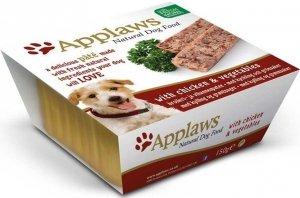Applaws 6250 Dog Kurczak warzywa 150g Pasztet