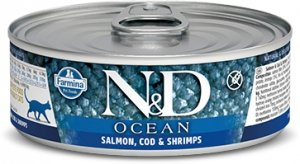 ND Cat Ocean 2000 Adult 80g Salmon, Cod, Shrimp