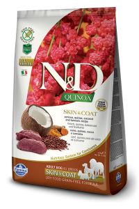 ND Dog NG 5554 Adult Quinoa 800g Skin&Coat Venison