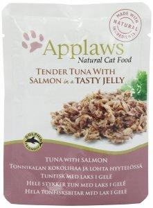 Applaws 8256 Cat Tuńczyk Łosoś 70g sasz w gal
