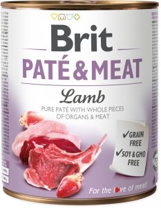 Brit Care Pate&Meat Lamb 800g