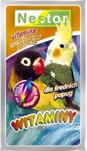 Nestor 0264 Witaminy Papuga Średnia Piórka