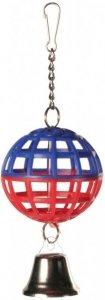 Trixie 5250 Piłka z dzwonkiem 4,5cm