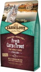 Carnilove Cat 7441 Fresh Carp & Trout Sterilis 2kg