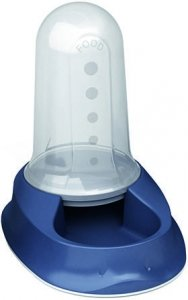 Zolux 98251 Dystryb pokarm/woda SMART 2,0l granat