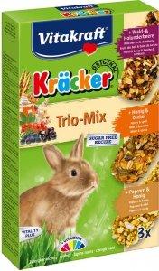 Vitakraft 3385 Kracker 3szt królik miód,popc,zbo
