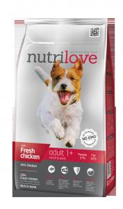 Nutrilove Dog 11473 Adult S 1,6kg kurczak