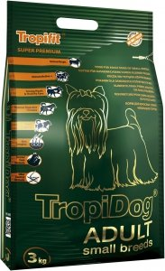 Tropidog 56036 Super Adult S Salmon Lamb Rice 3kg
