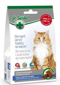 Dr Seidel 1643 Smakołyki d/kotów niskokalorycz 50g
