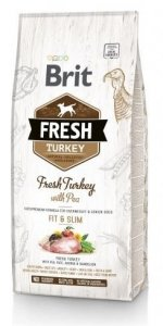 Brit Fresh 0793 Adult 12kg Turkey & Pea Fit&Slim