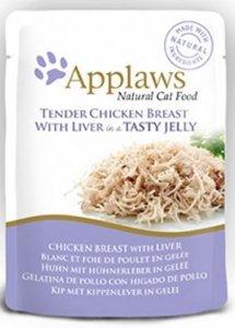 Applaws 8251 Cat Kurczak Wątróbka 70g saszetka gal