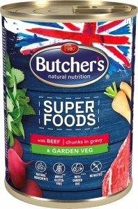 Butchers 5765 Superfood Wołowina z warzywami 400g