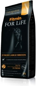 Fitmin Dog 15kg for Life Junior large br.