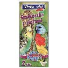 Dako-Art 230 Smakoszka ziołowa 2szt kolby papug