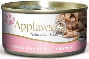 Applaws 2008 Cat Tuna and Prawn 156g puszka