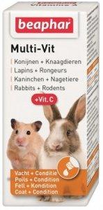 Beaphar 13676 Multivitamina gryzon i królik 20ml