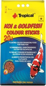 Trop. Pond 40657 Koi&Goldfis Color Stick 20L worek