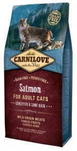 Carnilove Cat 2294 Salmon Sensitive&Long Hair 400g