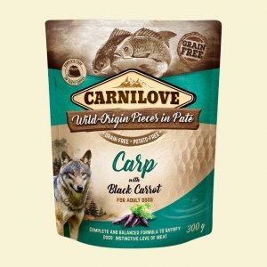 Carnilove Dog 7693 pouch Carp & black carrot 300g
