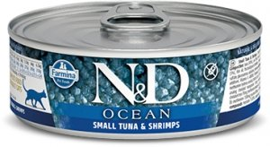 ND Cat Ocean 2888 Adult 80g Small tuna, Shrimp