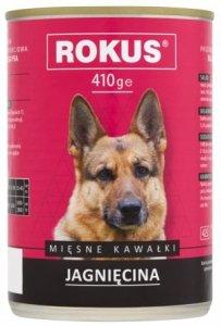 Rokus Dog 410g Jagnięcina