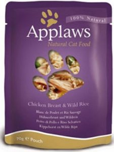 Applaws 8007 Cat Kurczak & Dziki ryż 70g saszetka